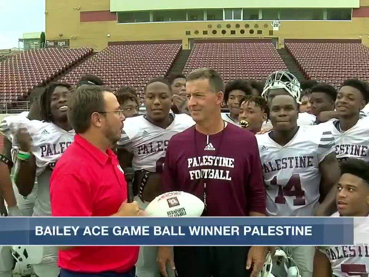 Palestine Wildcats receive Week 7 Game Ball