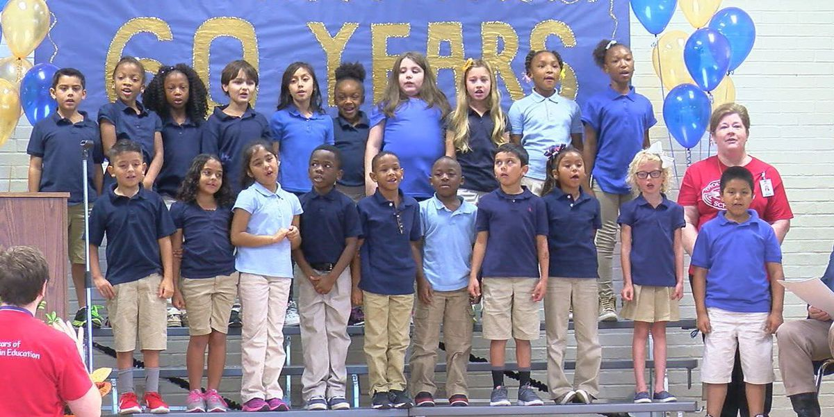 Trout Primary celebrates 60 years