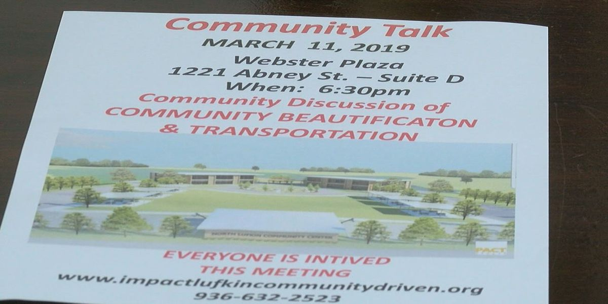 Impact Lufkin will host community meeting on beautification, transportation and workforce