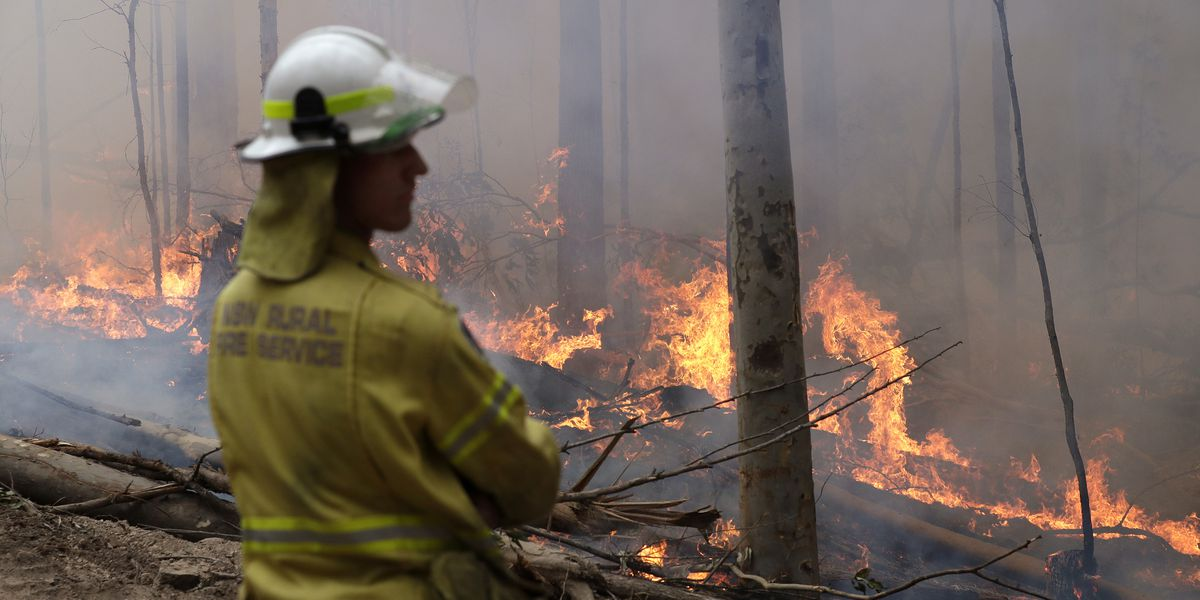 Search on for plane feared crashed while fighting Australian wildfires