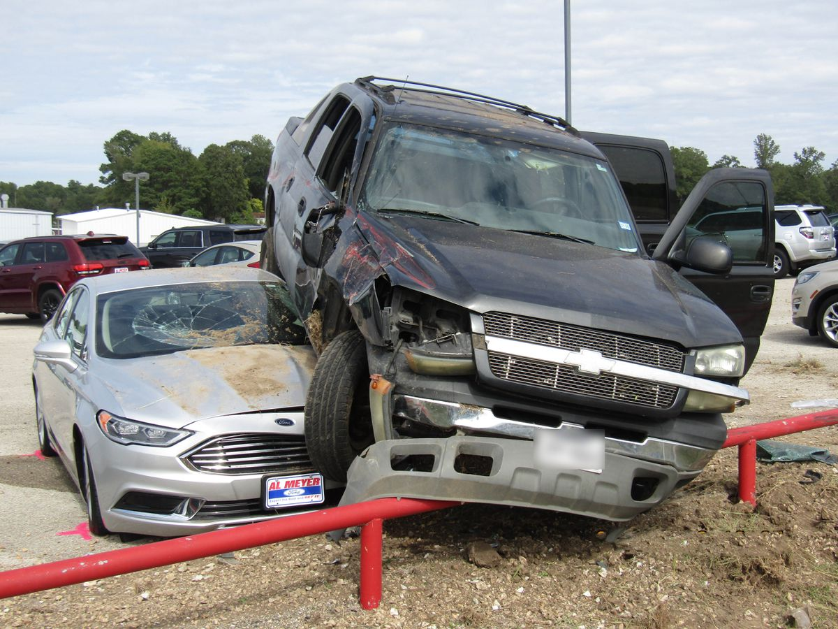 Dealership: Crash caused thousands in damage to pre-owned vehicles on Lufkin lot