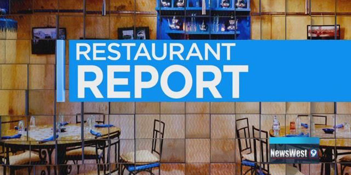 Restaurant Report _ Angelina County - 11/08/18