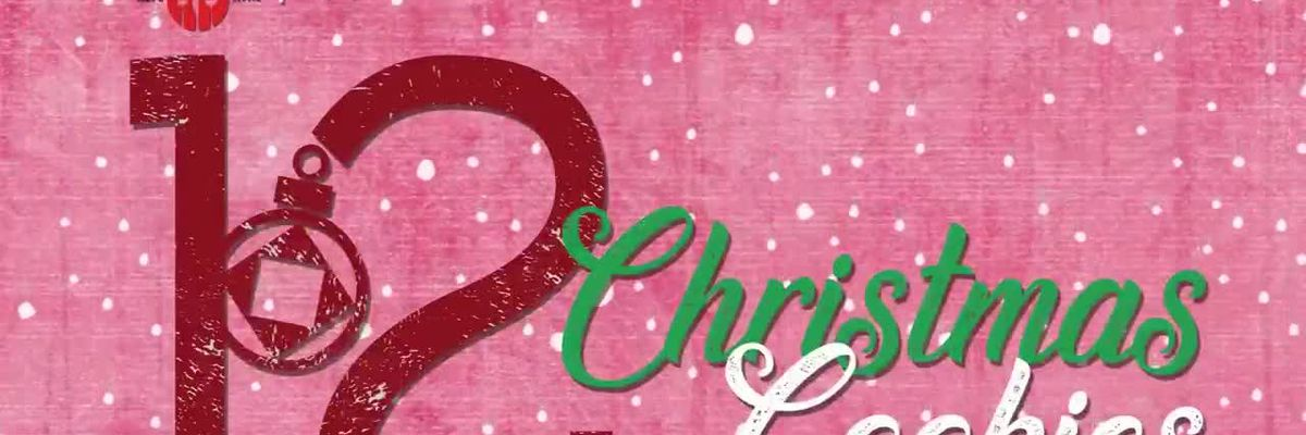 12 Days of Christmas on ETX Kitchen: Crinkle cookies