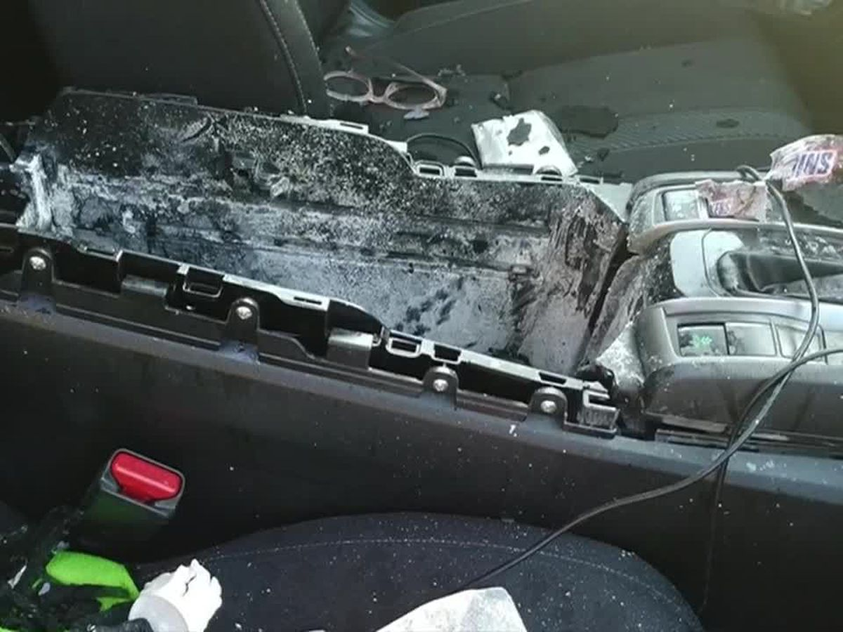 Dry shampoo can explodes, destroying Missouri woman's car