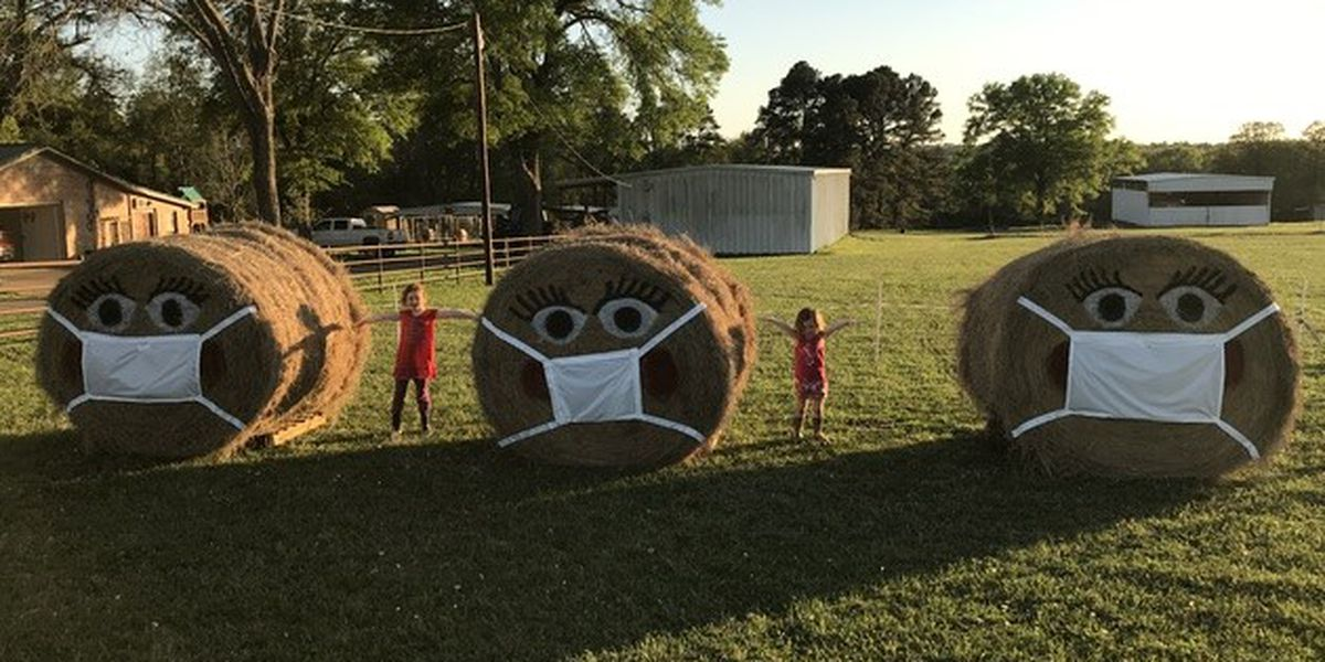 HAY! Gregg County couple wants you to practice social distancing