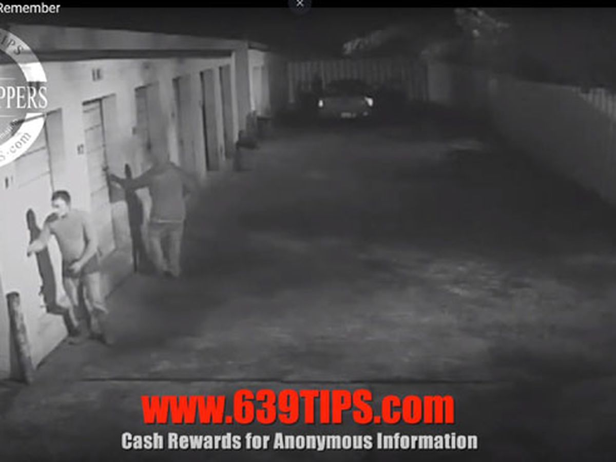Lufkin Crime Stoppers: 4 people, including 1 in Guy Fawkes mask, burglarized storage units