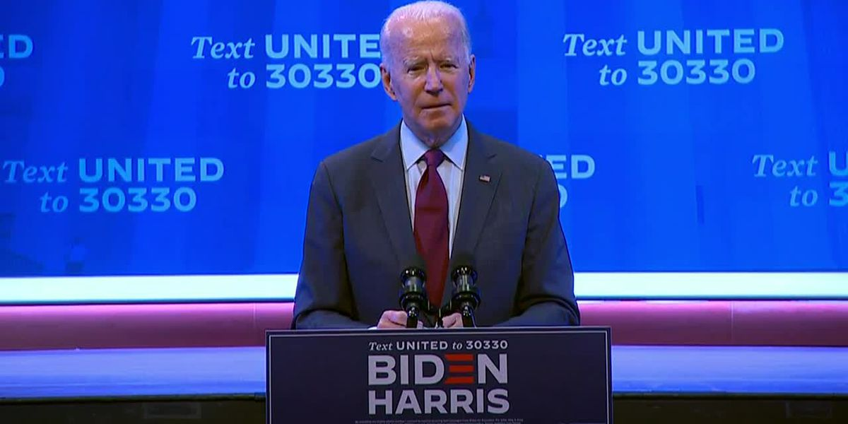 Biden urges pause on Trump court pick until after election