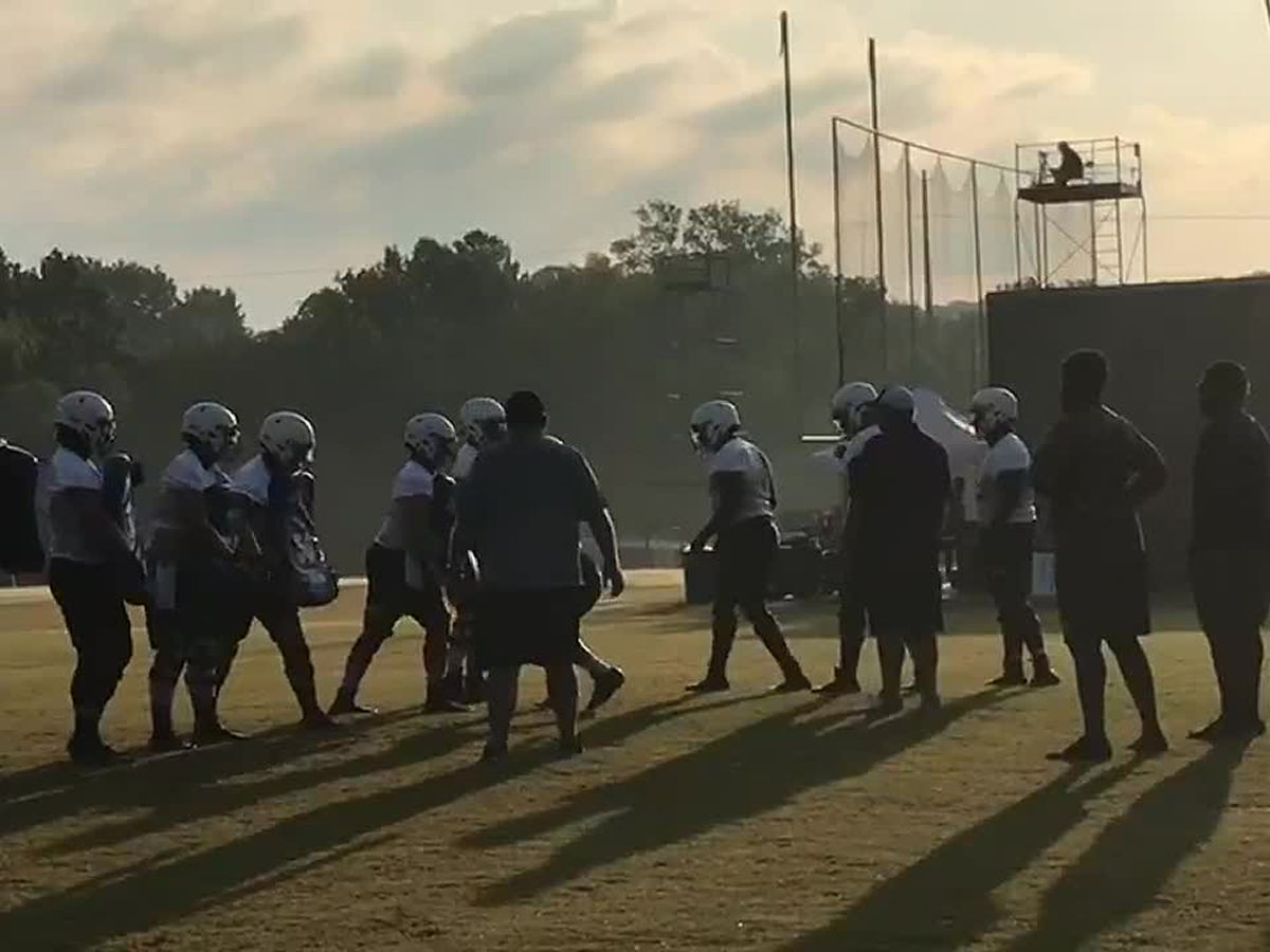 SFA football holds first practice despite uncertainty of 2020 season