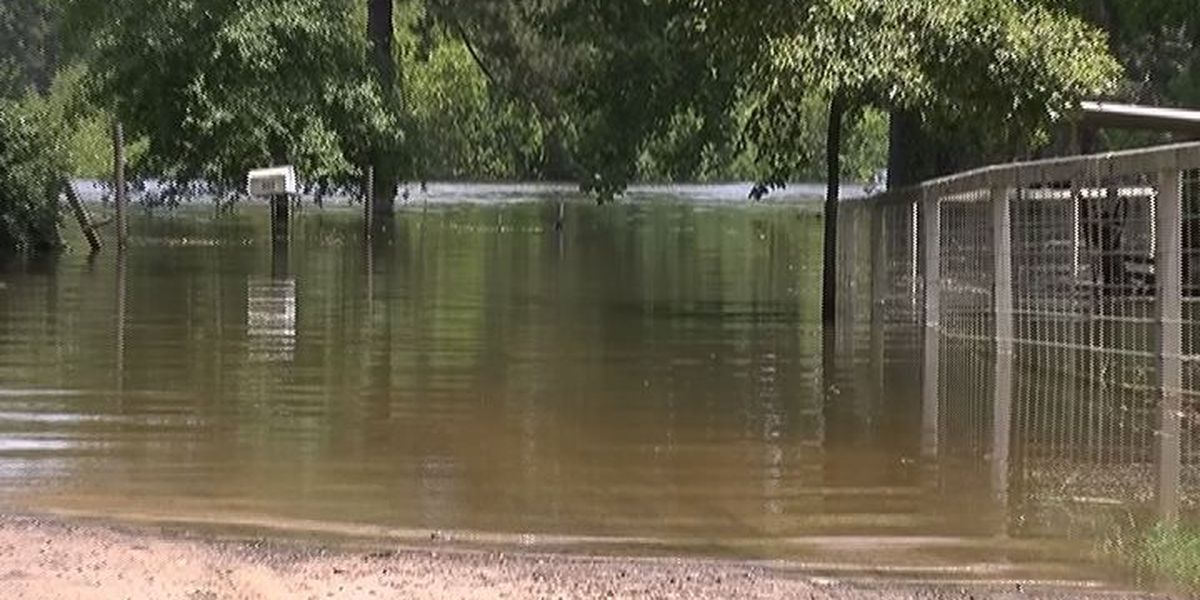 Several San Augustine Co. roads underwater for months