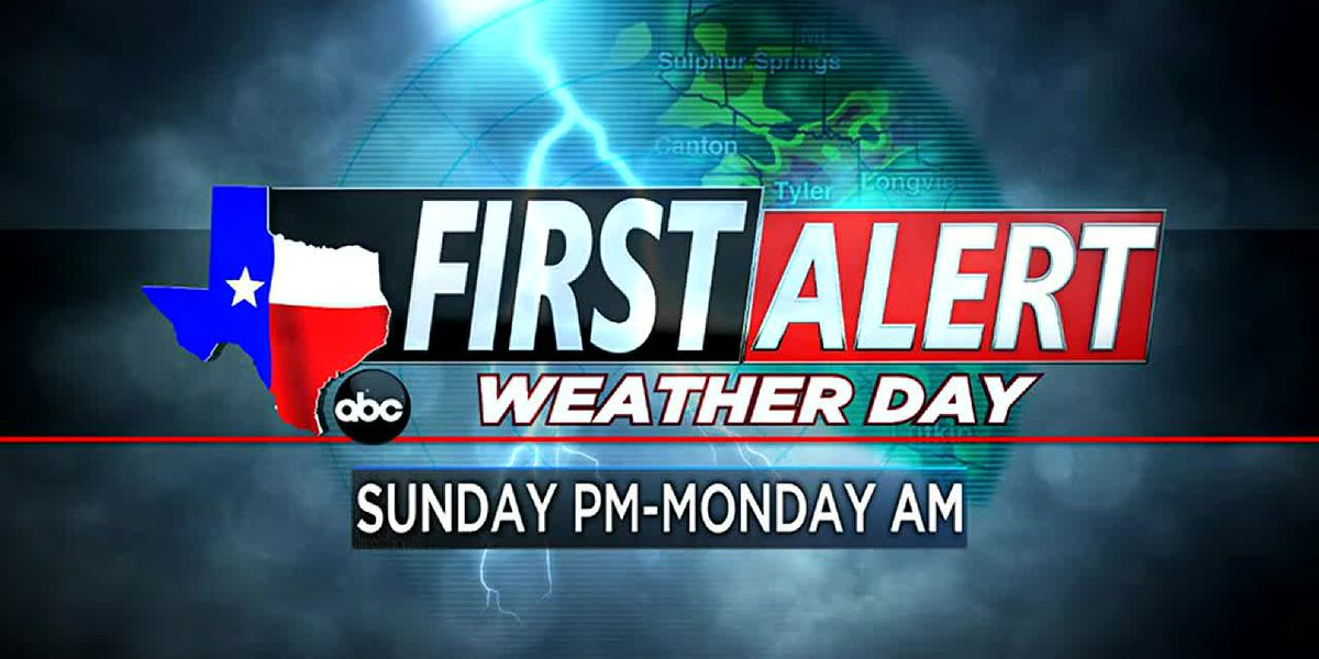 Several East Texas counties under Severe Thunderstorm Warnings