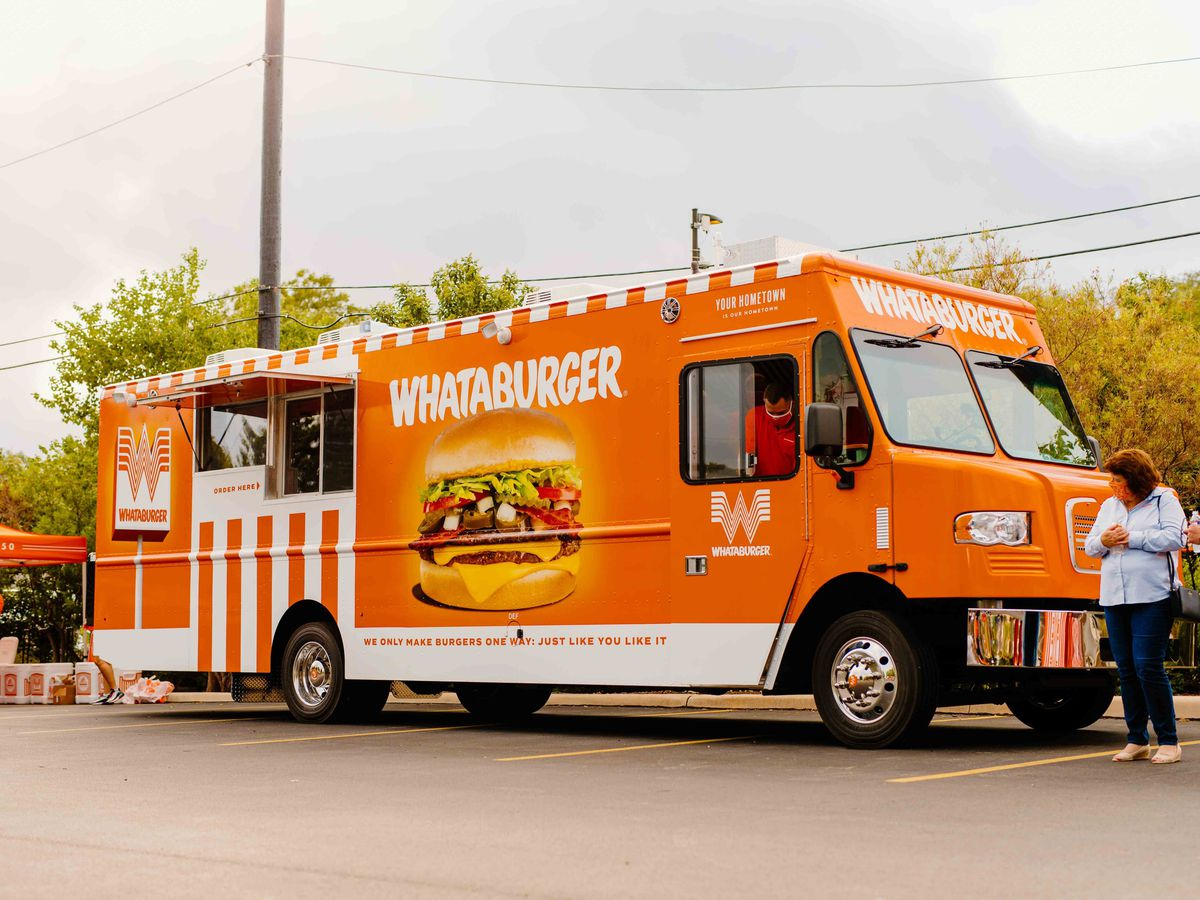 Whataburger rolls out massive food truck