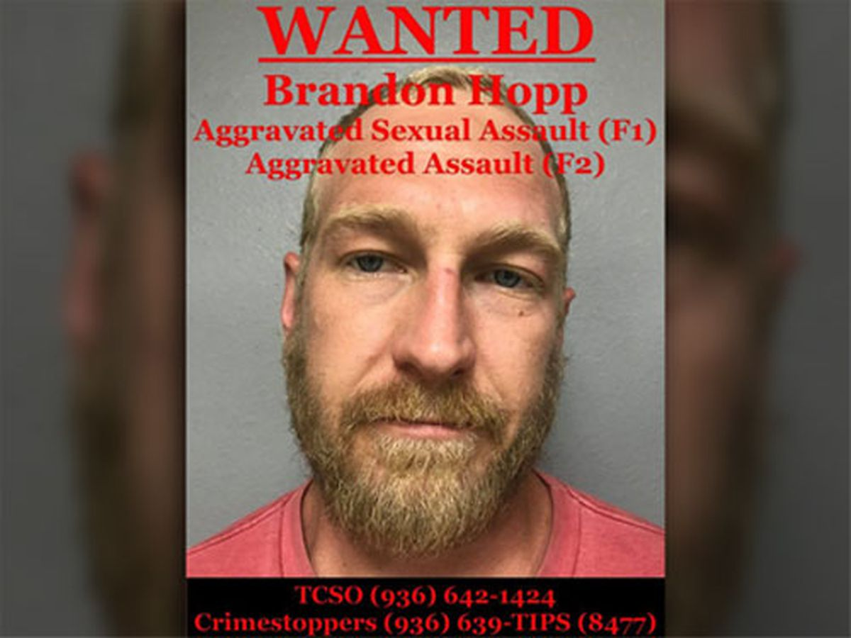 Trinity County Sheriff's Office seeking info on whereabouts of man wanted for sexual assault