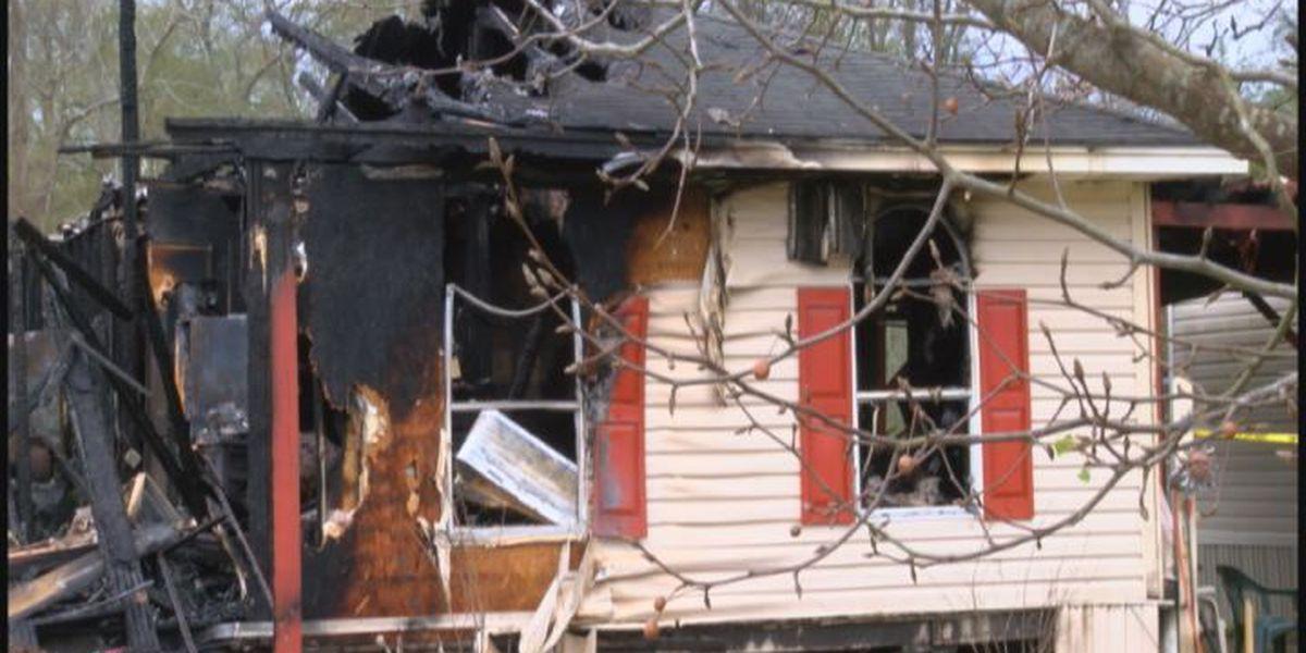 Neighbors describe Hudson house fire that left elderly couple homeless