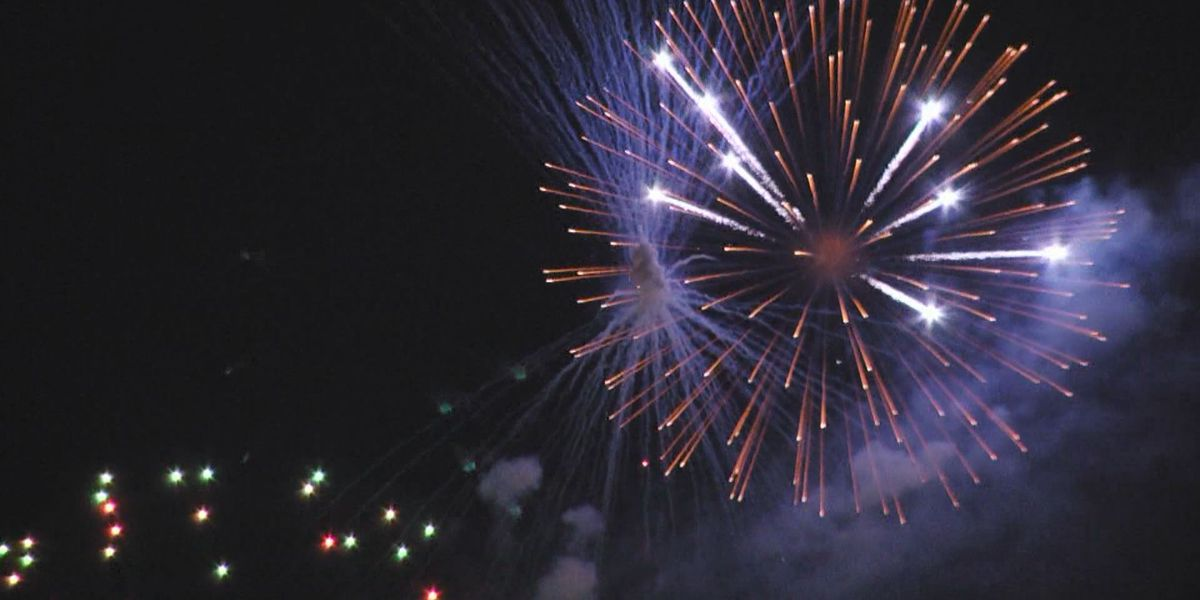 Fireworks, activities for July 4 in East Texas