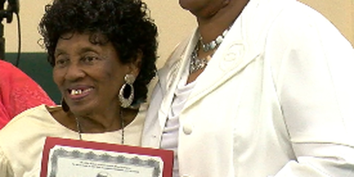 Mary Allen College honors 93-year old alum