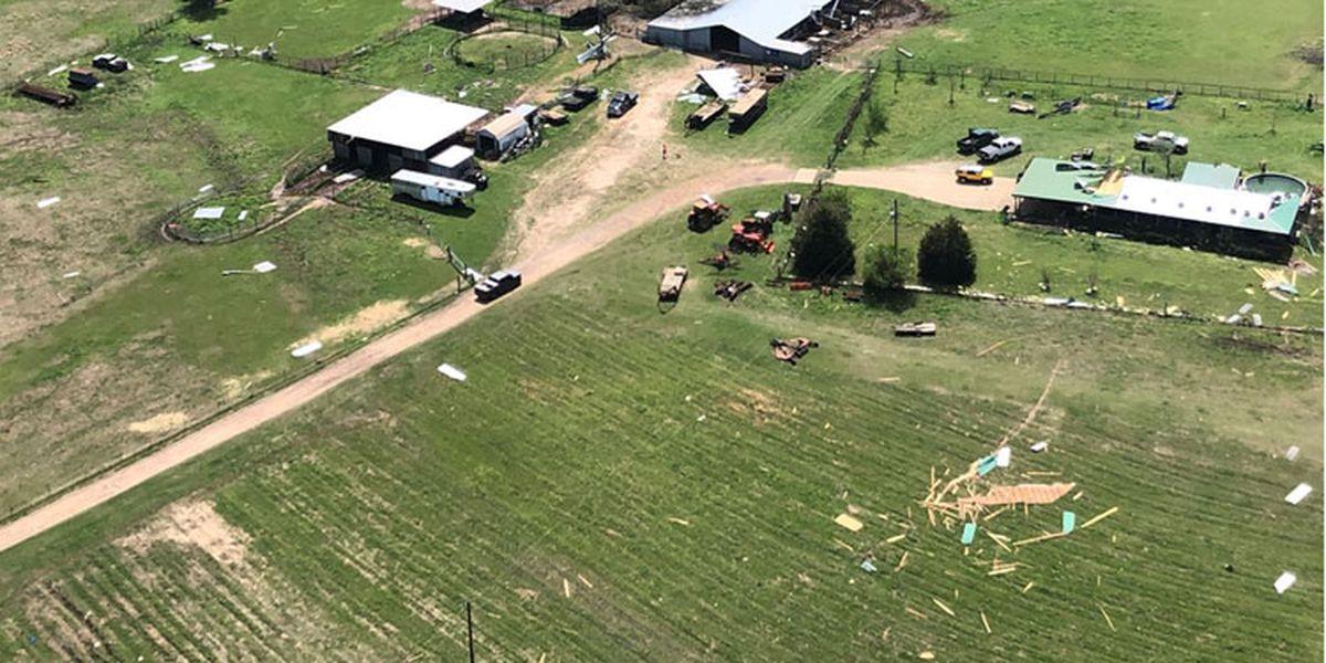 NWS survey teams report EF-2, EF-1 tornadoes hit Cherokee County