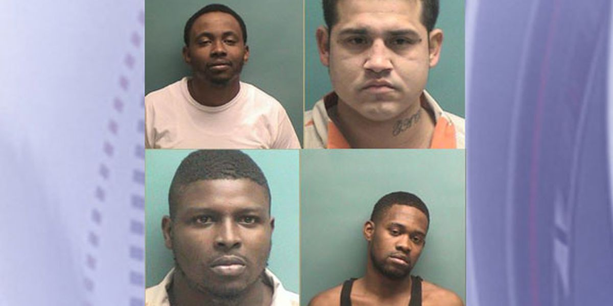 4 arrested after police seize drugs, stolen gun during Nacogdoches traffic stop