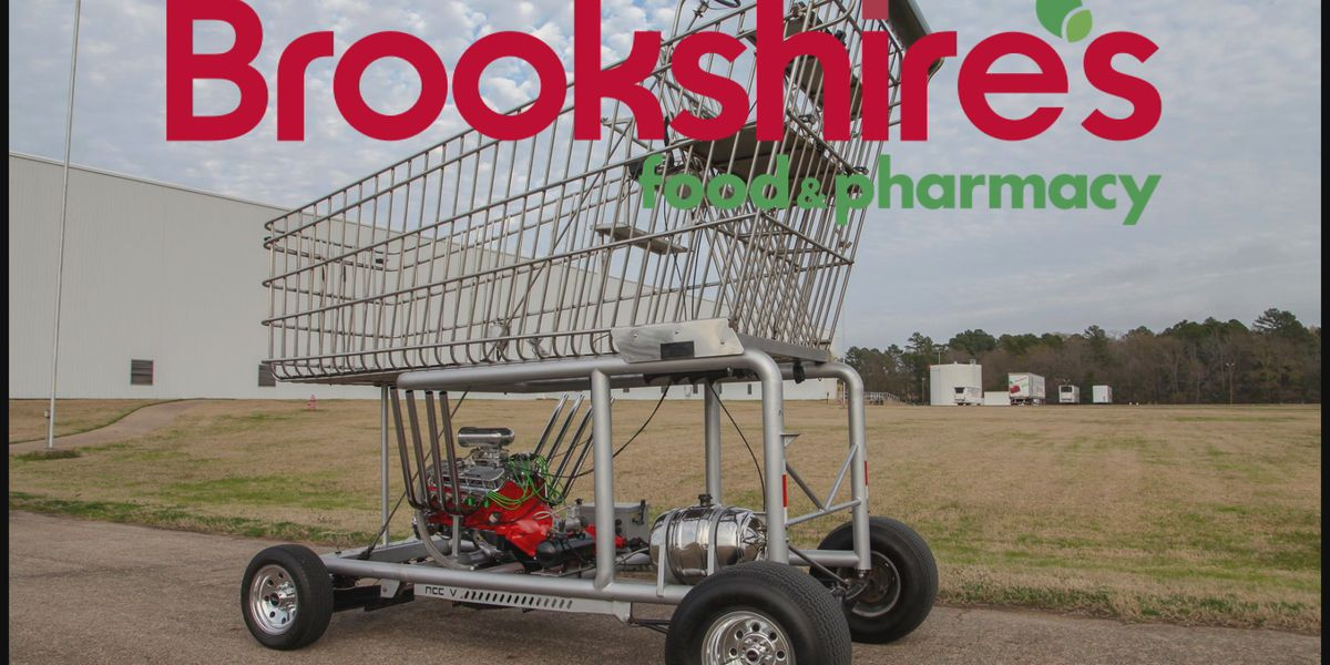 """The Big Grocery Cart,"" to be unveiled at reopening of Bowie Brookshire's"
