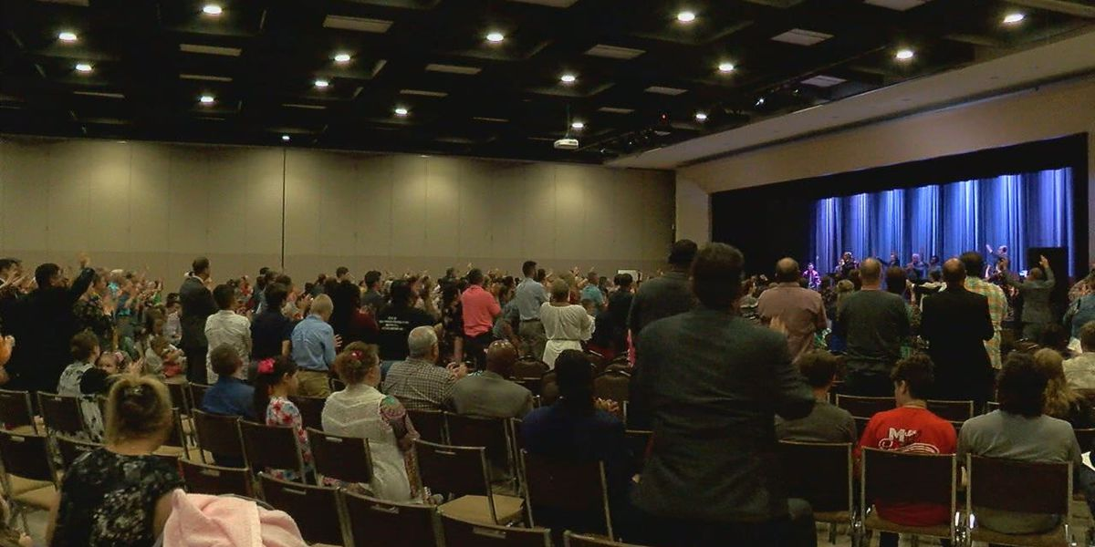 Churches and community members come together for United in Prayer for Angelina County Launch