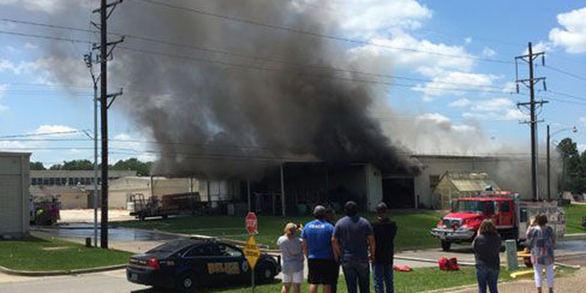 Blaze damages Corrigan-Camden ISD ag building; no one injured
