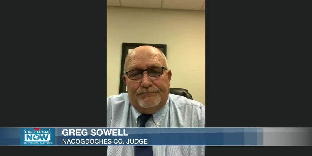 WATCH: Nacogdoches County Judge reacts to latest 'uptick' in COVID-19 numbers