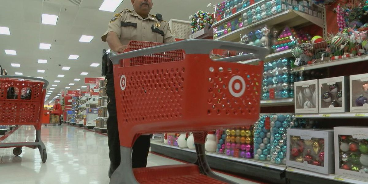 East Texas officers go above the call of duty with Shop with a Cop event