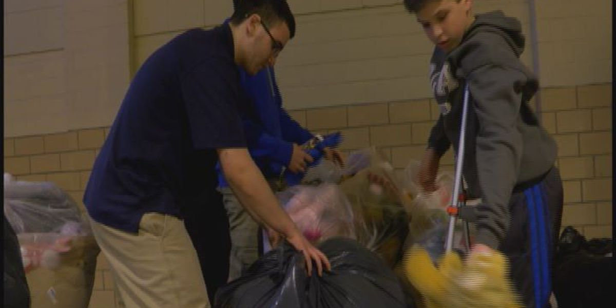 Lufkin students donate big to Toys for Tots