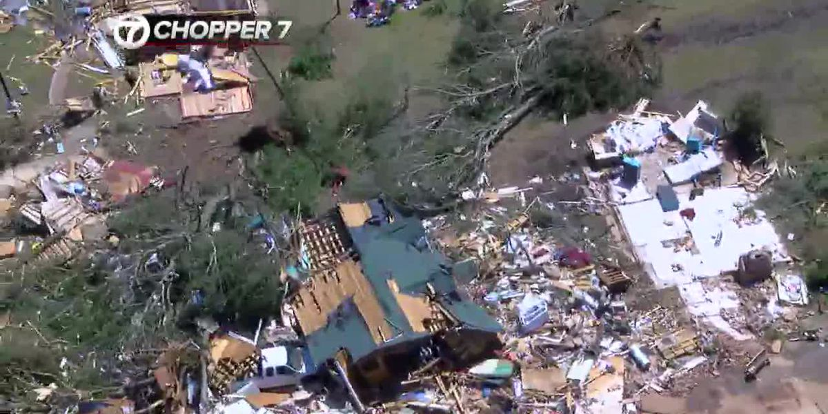 WEBXTRA: Survivor of Alto tornadoes says she is lucky to be alive