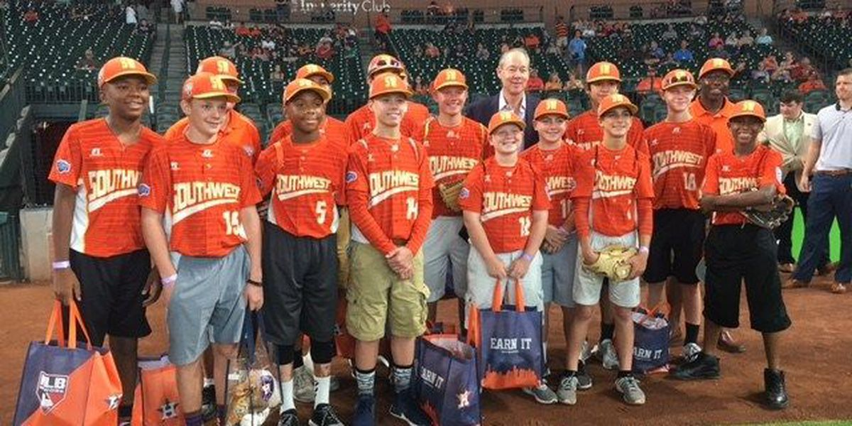 Take me out to the ballgame: Lufkin All-Stars given red carpet treatment by Houston Astros