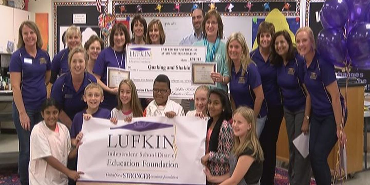 LISD Education Foundation gives nearly $40K in grants