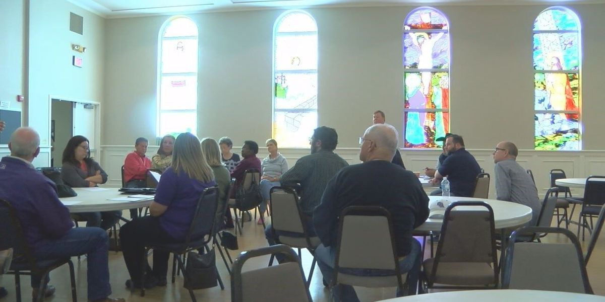 Nacogdoches' First Christian Church hosts Hurricane Harvey debrief to discuss shelter process