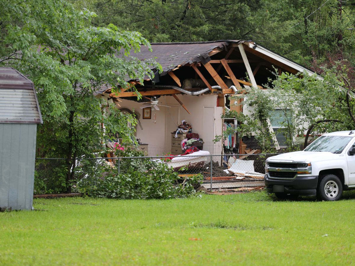 Lufkin woman dies when tree falls on home