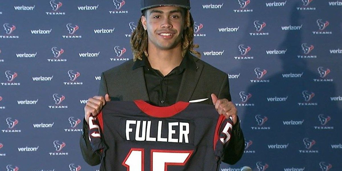 Houston Texans sign first-round draft pick Will Fuller