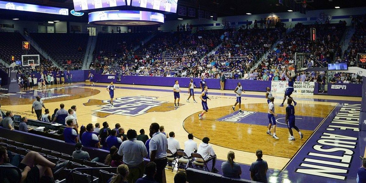 SFA Jack Madness Set for Friday Night Inside William R. Johnson Coliseum