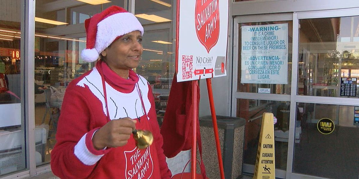 Lufkin woman has rung ceremonial Salvation Army bell for 15 years