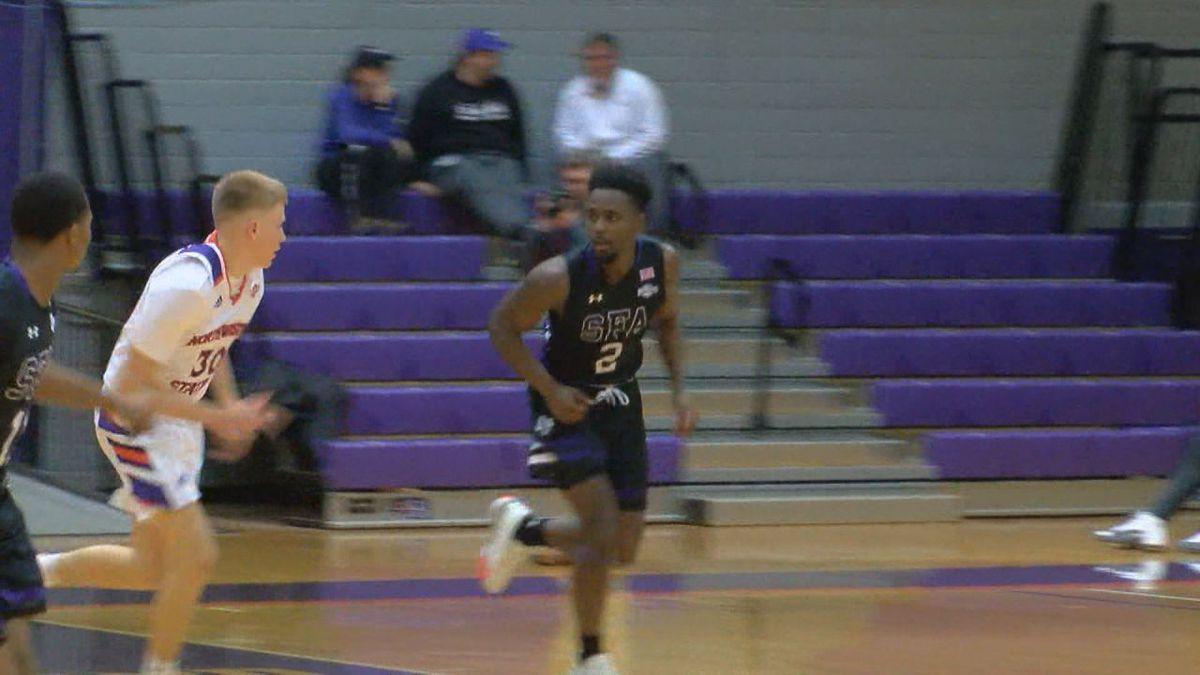 Wednesday night hoops: SFA teams sweep Northwestern, AC teams split conference contests