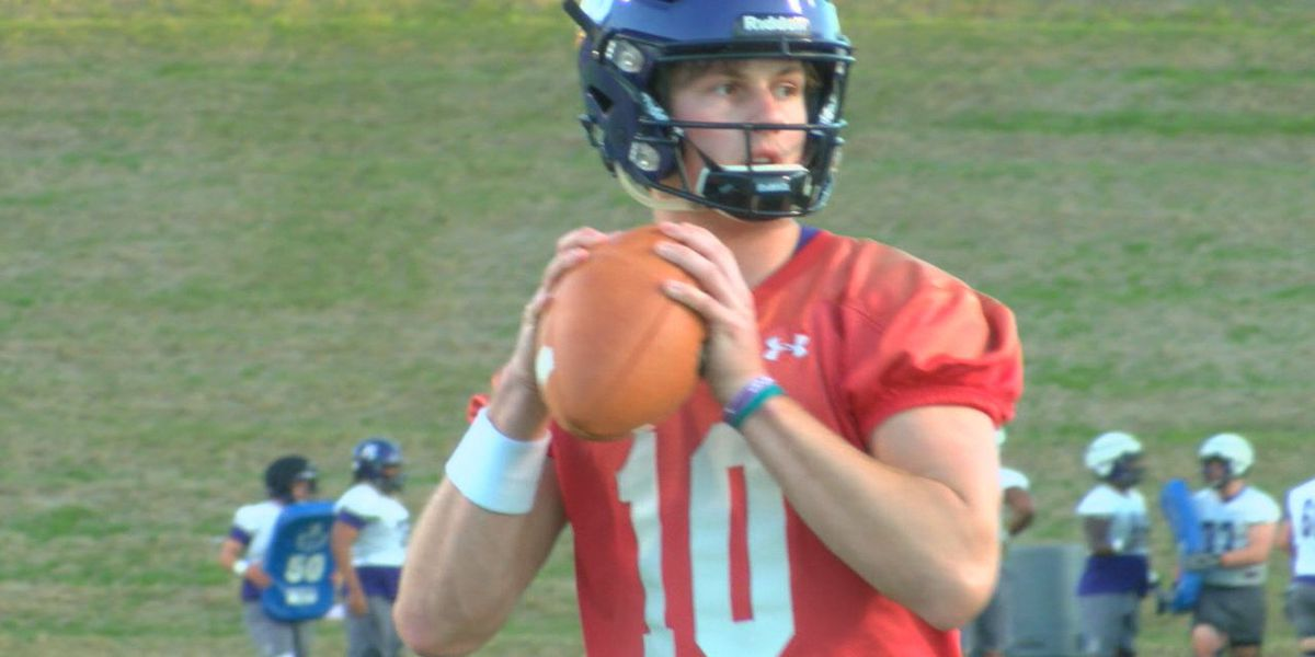Coach Colby Carthel, Lumberjacks open up Spring Camp with excitement