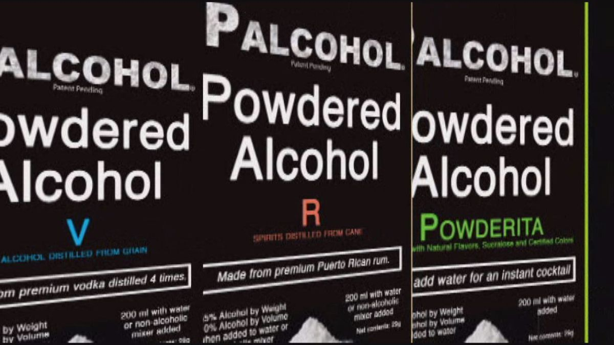 Lawmaker files bill to ban powdered alcohol in Texas