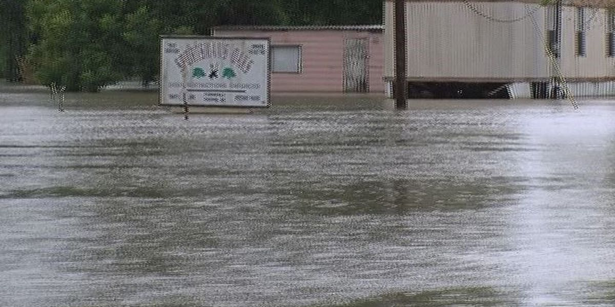 Trinity County flooding continues leaving neighborhood under water for month