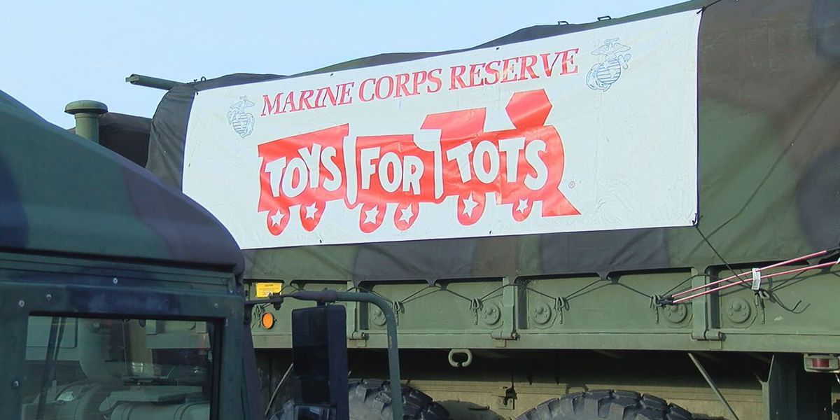 'Toys for Tots' Christmas campaign kicks off in Angelina, Trinity counties