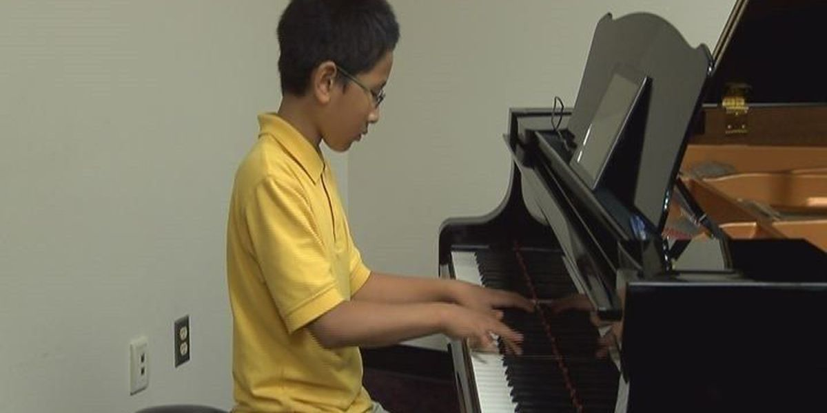 Nacogdoches boy in the running for international piano competition