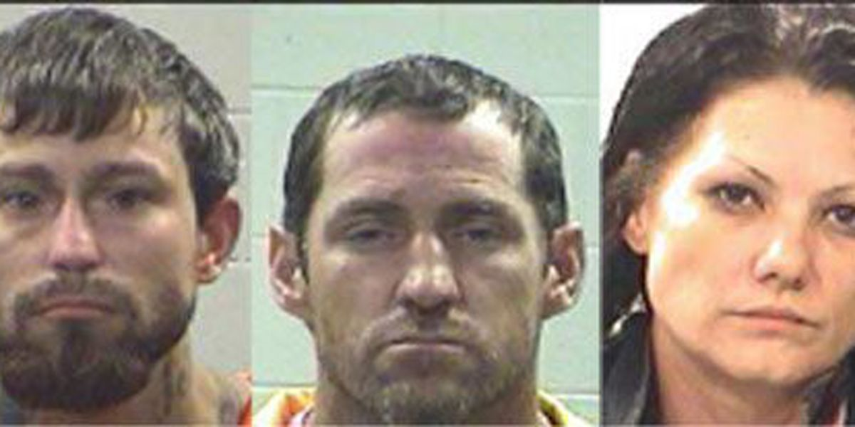 Livingston traffic stop results in 3 meth-related arrests