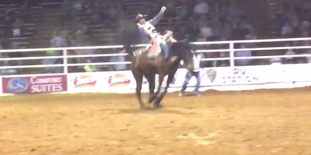 Nacogdoches Rodeo contestants make up for lost time