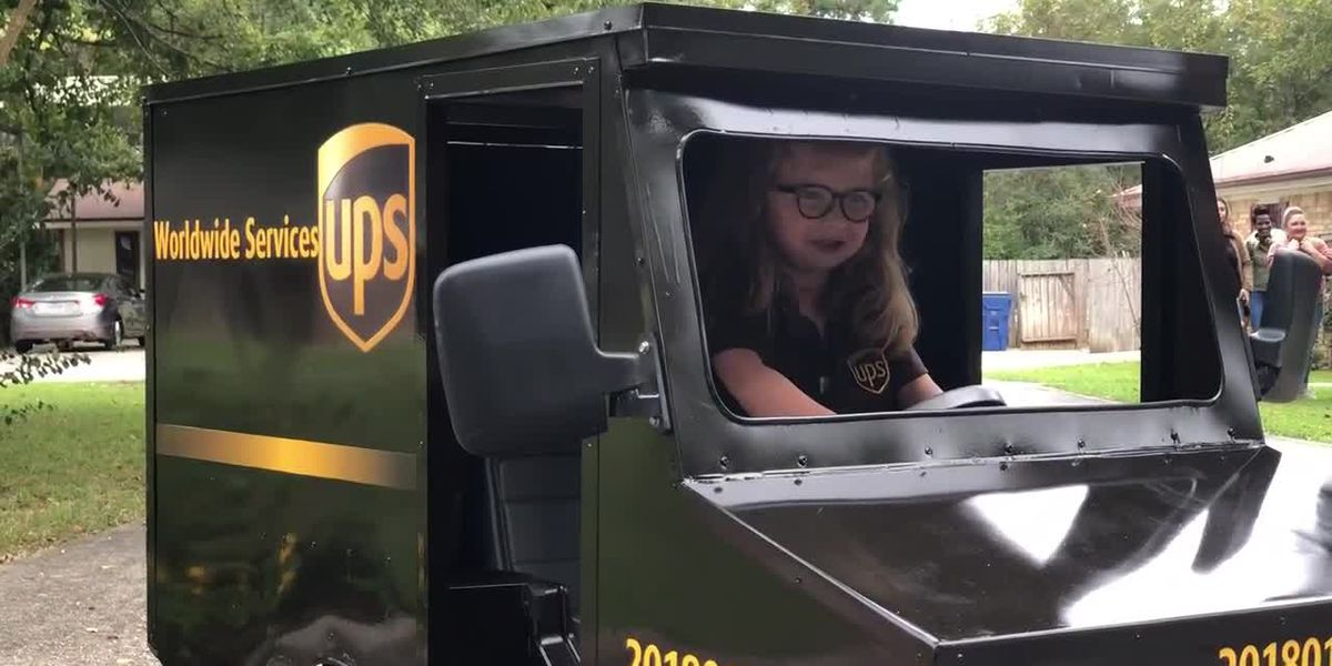 Jasper girl to be featured in UPS commercial after friendship with delivery driver