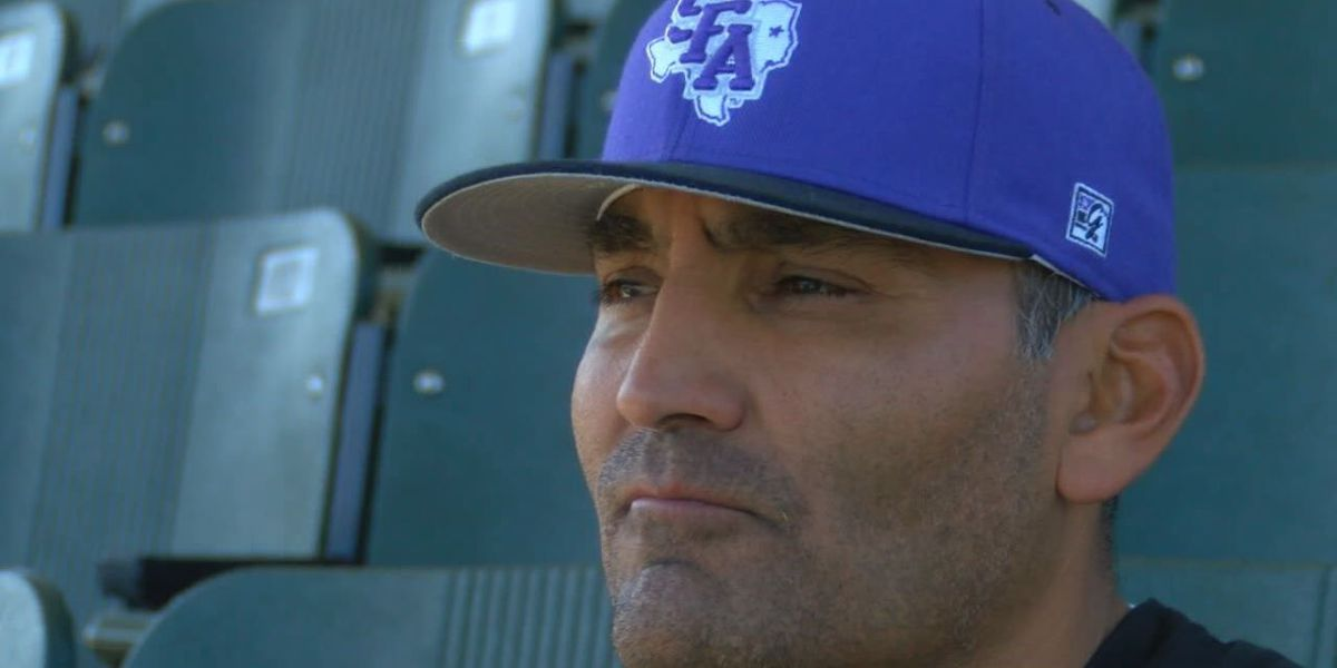 Johnny Cardenas celebrates 500-win milestone for SFA Baseball program