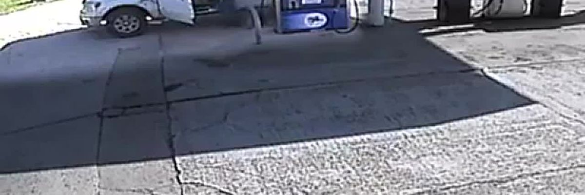 VIDEO: 'Gas drive off' leads to identity theft investigation