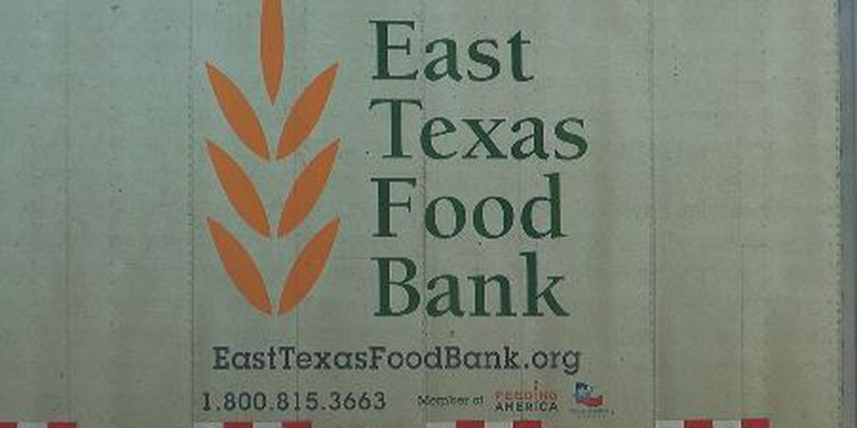East Texas Food Bank holding drive-through food distribution in Lufkin Tuesday