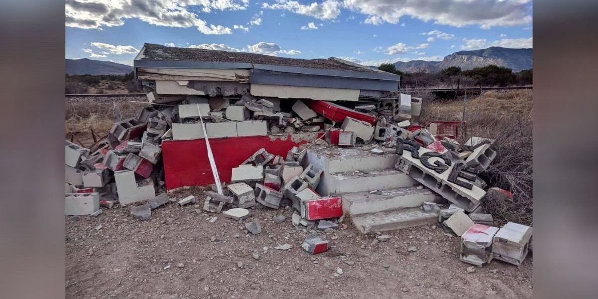 Iconic 'World's Smallest Target Store' demolished in remote West Texas