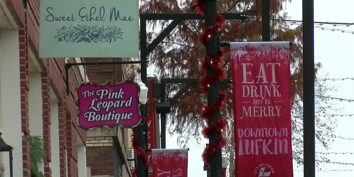 Supporting Small Business Saturday in Lufkin