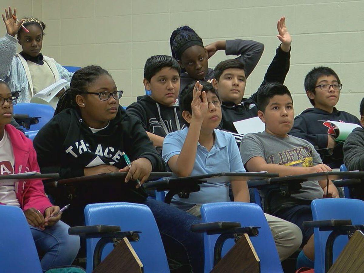 Lufkin Middle School students learn entrepreneurship, financial readiness skills